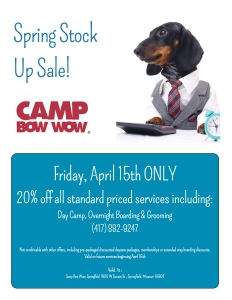 spring stock up sale flyer springfield